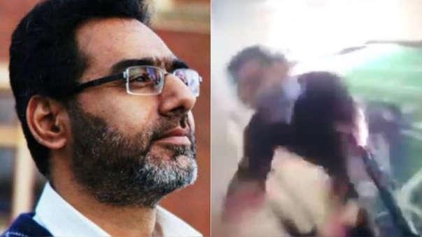 El profesor y su hijo Talha Naeem perdieron la vida con otros cuatro paquistaníes en el asalto terrorista.