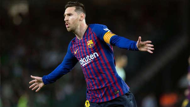 Lionel Messi VER GOL: El golazo de tiro libre del argentino con el que le  dio la ventaja al Barcelona contra Real Betis | RPP Noticias