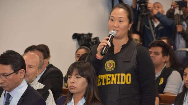 Keiko Fujimori no declarará ante el fiscal José Domingo Pérez.