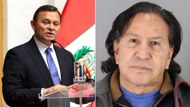 Cancillería confirmó la detención de Alejandro Toledo en Estados Unidos.