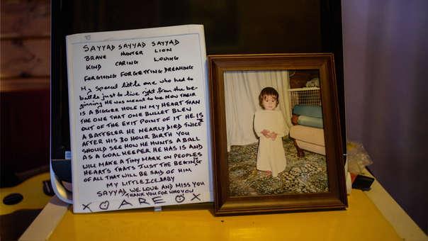 Mensaje a menor fallecido en mezquita
