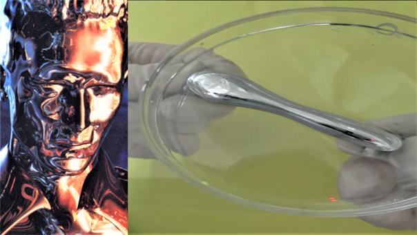 Científicos desarrollan un metal líquido que puede manipularse