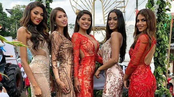 El 21 de febrero, cinco reinas de belleza llegaron a Rioja para participar de las festividades del carnaval del departamento de San Martín: Yoko Chong, Janet Leyva, Camila Canicoba, Camila Escribens y Anyella Grados .
