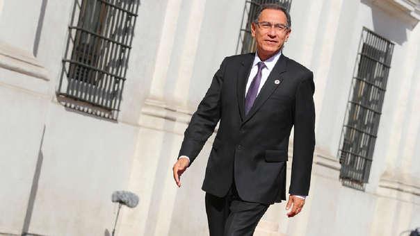 Martin Vizcarra cumple un año en el gobierno