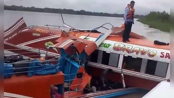 Choque de embarcaciones