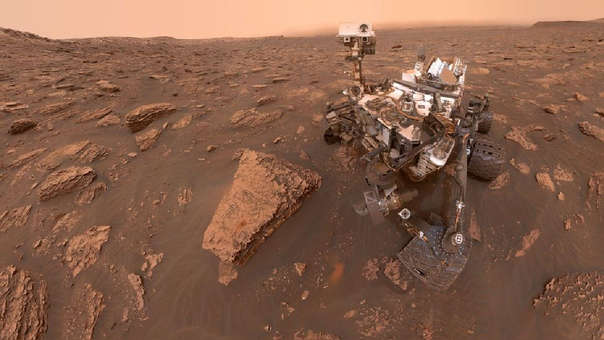 Curiosity llegó a Marte el 6 de agosto de 2012.