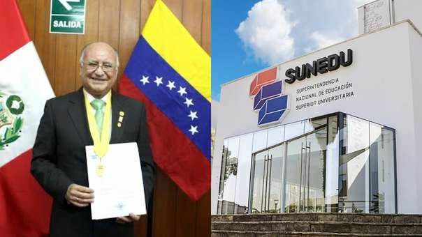 El rector de la Universidad Alas Peruanas, Enrique Bedoya Sánchez, es uno de los que quiso convalidar un título de la Faculdade Atenas.