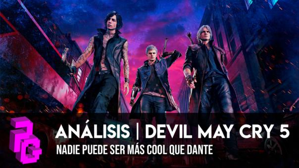 Devil May Cry 5 nos lleva a una época más sencilla, donde nuestro concepto de lo 'genial' era representado por su protagonista Dante.