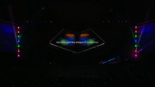 El Galaxy Fold ya ha sido presentado en San Francisco el mismo día que el modelo S10