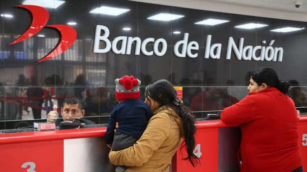 Banco de la Nación maneja más de S/1,400 millones en ahorros.