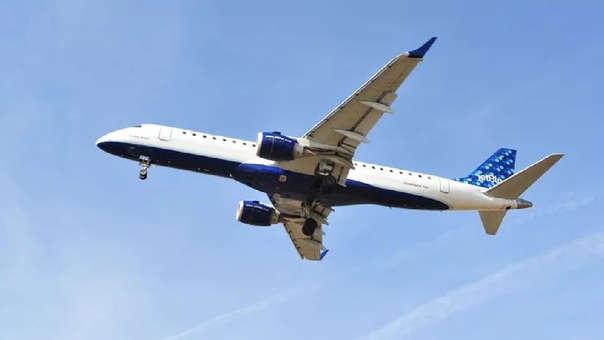 Avión de la aerolínea JetBlue