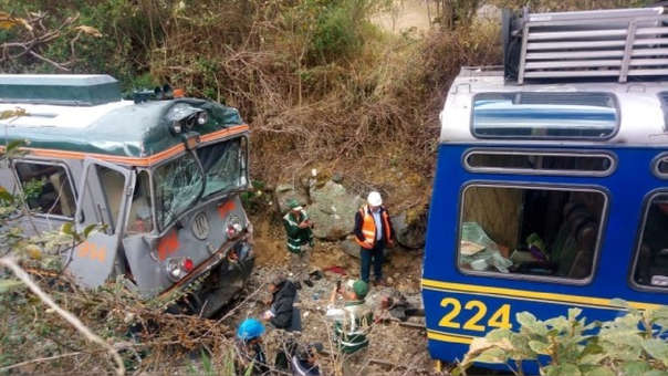 Perurail e Inca Rail fueron halladas responsables del accidente ferroviario en Cusco.