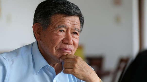 Nelson Chui fue gobernador regional de Lima entre 2007 y 2010 y luego entre 2015 y 2018.