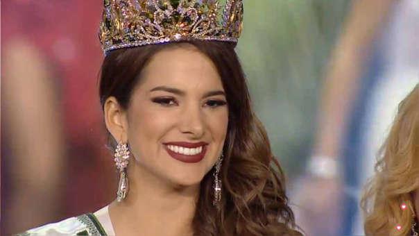 Suheyn Cipriani se coronó como la nueva Miss Eco International 2019.