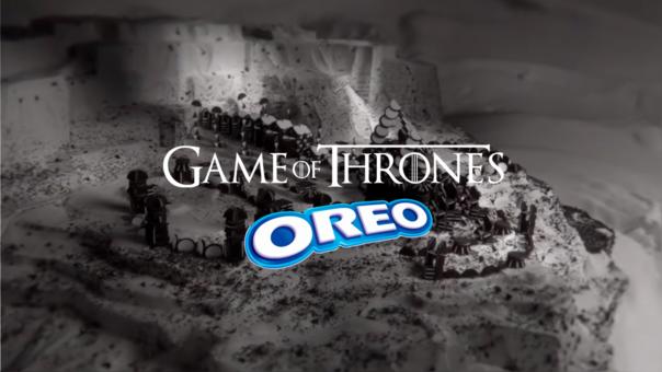 Oreo Y Game Of Thrones Recrean La Apertura De La Serie Con 2750