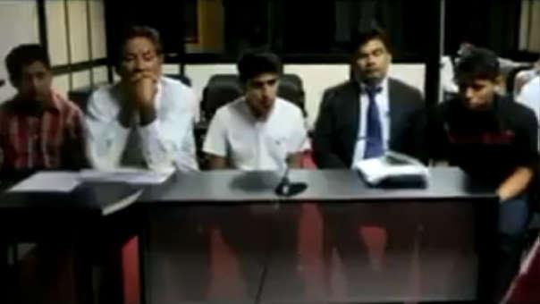 Prisión preventiva para acusados de violación grupal