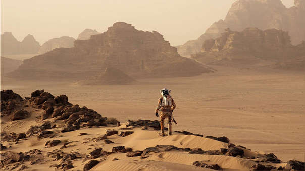 El ser humano llegará pronto a Marte, según los planes de la NASA.