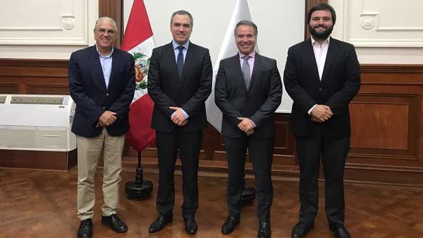 La Bancada Liberal se reunió con el presidente del Consejo de Ministros.