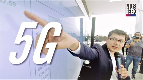 El 5G ya se está implementando en Perú
