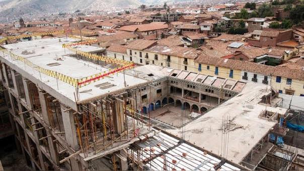 El Ministerio de Cultura ha ordenado que la empresa realice la demolición del exceso de volumen que vulnera el patrimonio de la Nación.