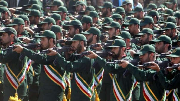 Guardianes de la revolución iraní