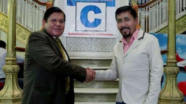 Gutiérrez Cueva y Cáceres Llica ahora están enfrentados.