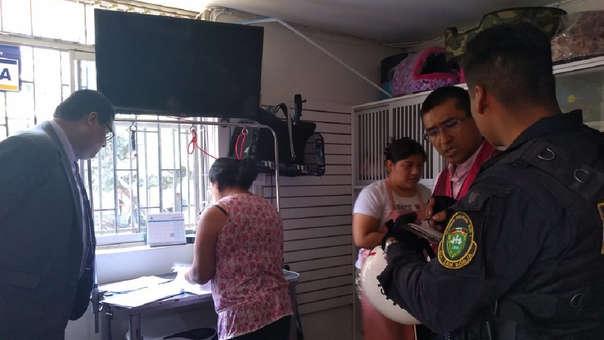 Operativo contra el ejercicio ilegal de la Medicina Veterinaria con el apoyo de la Policía Nacional.