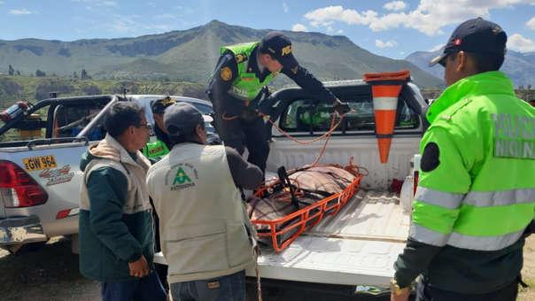 Accidente en el Valle del Colca.