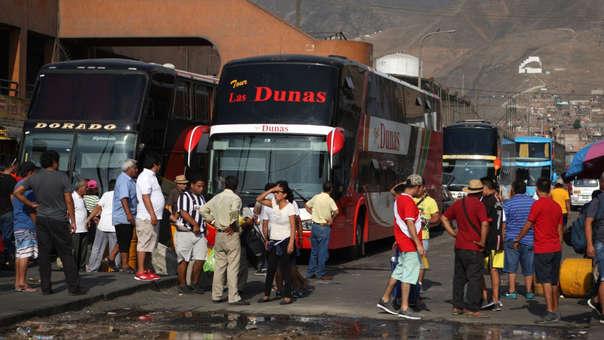 El alcalde de Lima indicó que buscará erradicar el uso de terminales informales.