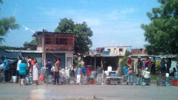 Falta de agua en Venezuela