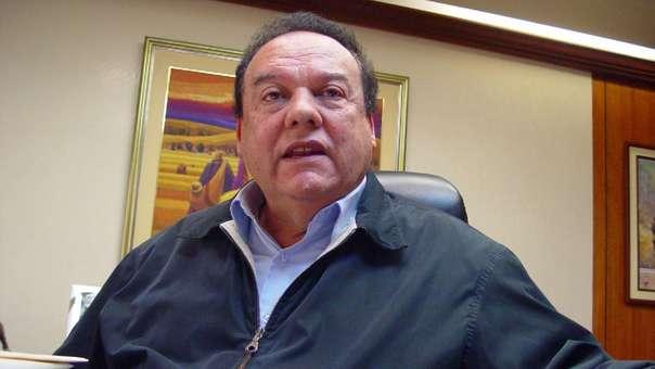 Exministro aprista Luis Alva Castro.