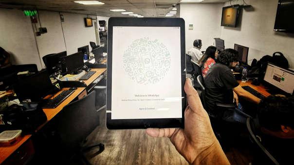 ¡Ya está cerca! pronto tendremos versión oficial de WhatsApp para iPad