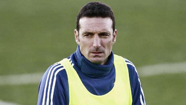 Lionel Scaloni, técnico de la Selección de Argentina.