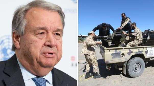 Guterres - Libia