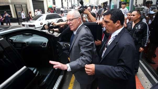 Poder Judicial ordena detención preliminar contra Pedro Pablo Kuczynski.