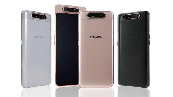 Este es el nuevo A80 de Samsung, con cámara retráctil y giratoria