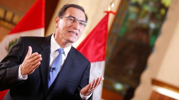 El presidente Martín Vizcarra brindó su primer mensaje a la Nación del 2019.