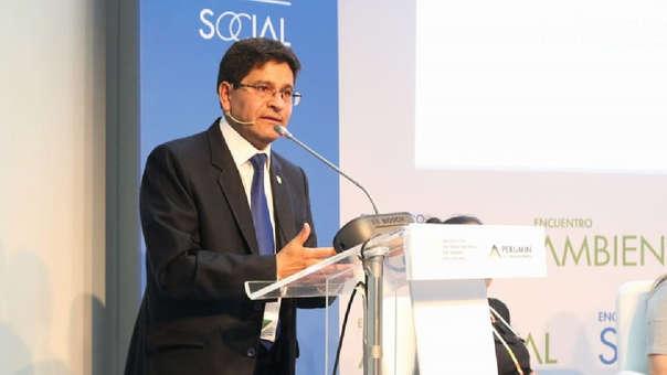Rector de la Unsa, Rohel Sánchez Sánchez.