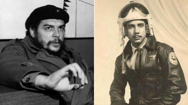Che Guevara y el expiloto cubano Antonio Bascaro