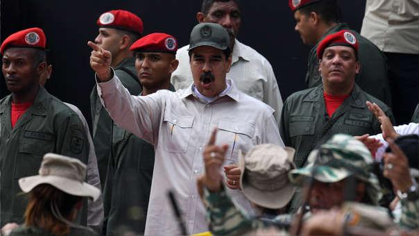 VENEZUELA-CRISIS-MILITARY-MADURO