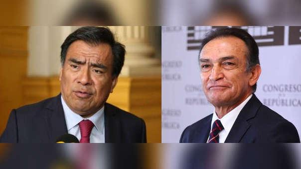 Javier Velásquez y Héctor Becerril