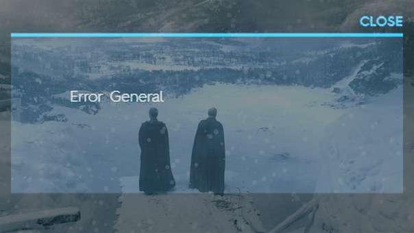 El primer caído de la temporada fue el servicio de HBO GO.