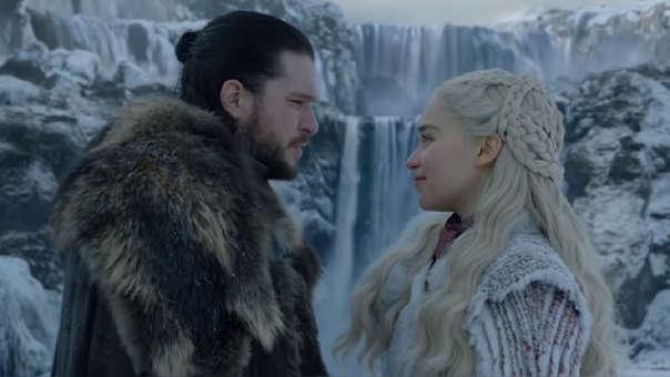 Jon y Denerys
