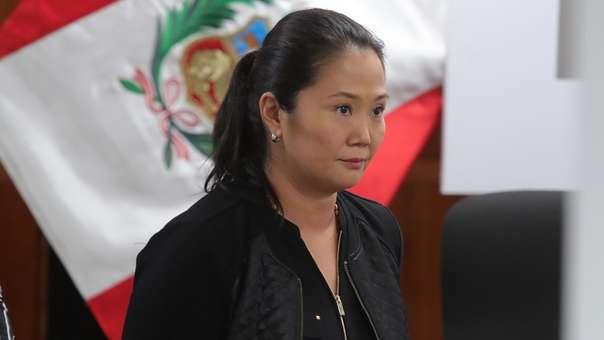 Keiko Fujimori permanece actualmente presa de manera preventiva.