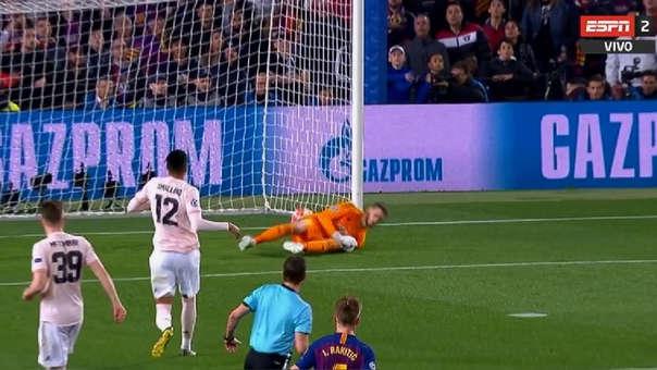 Barcelona vs. Manchester United EN VIVO: Messi pone el segundo en complicidad con De Gea | VIDEO