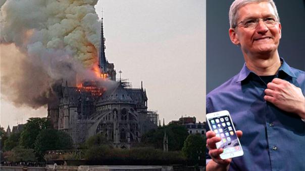 Apple se une a los millonarios y corporaciones que contribuirán con la restauración de este patrimonio de la humanidad.