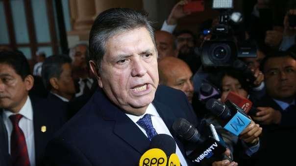 Alan García es investigado por el caso Odebrecht.
