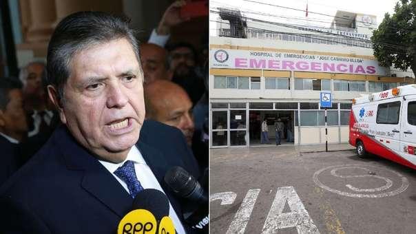 El expresidente falleció en el hospital Casimiro Ulloa.