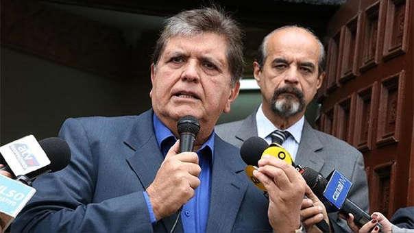 Alan García murió producto de un disparo en la cabeza