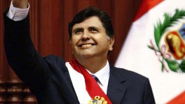 García fue el primer miembro de su partido, el APRA, en convertirse presidente del Perú.